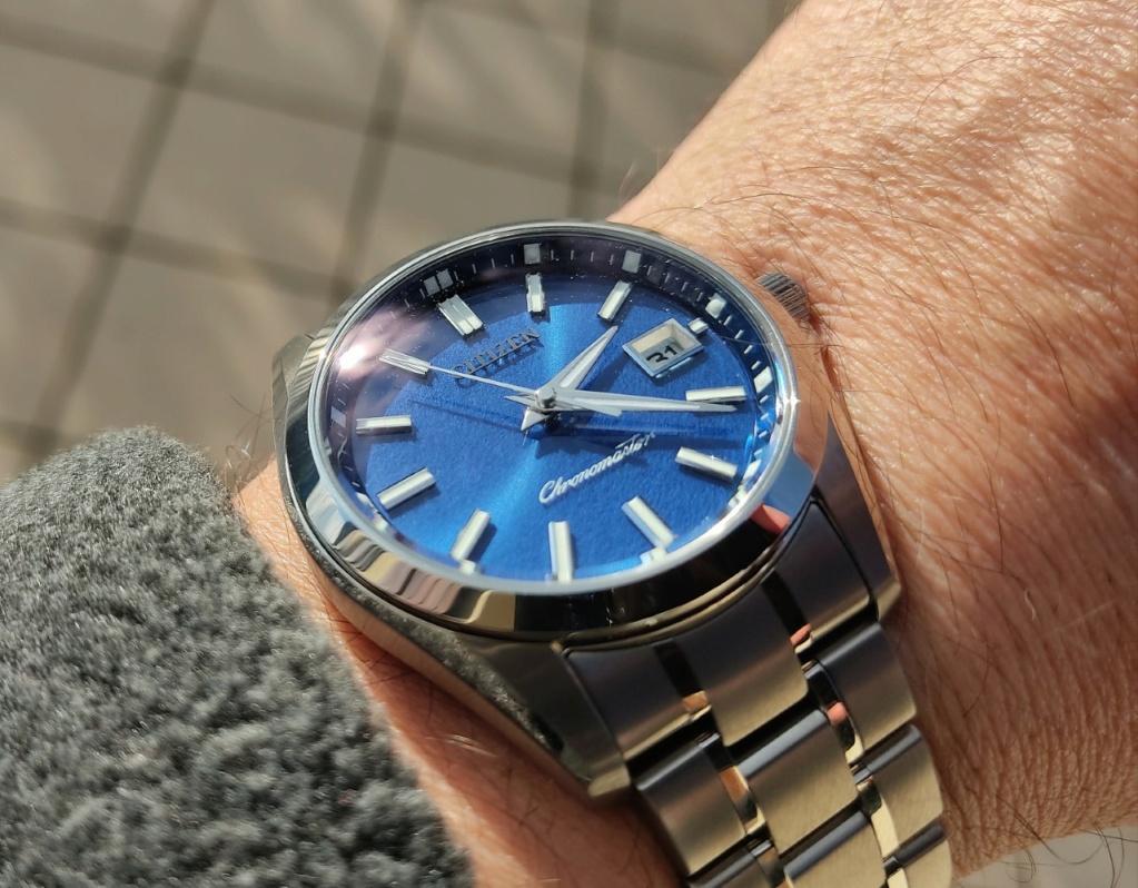 The Citizen blue washi dial: ma petite revue Citize14