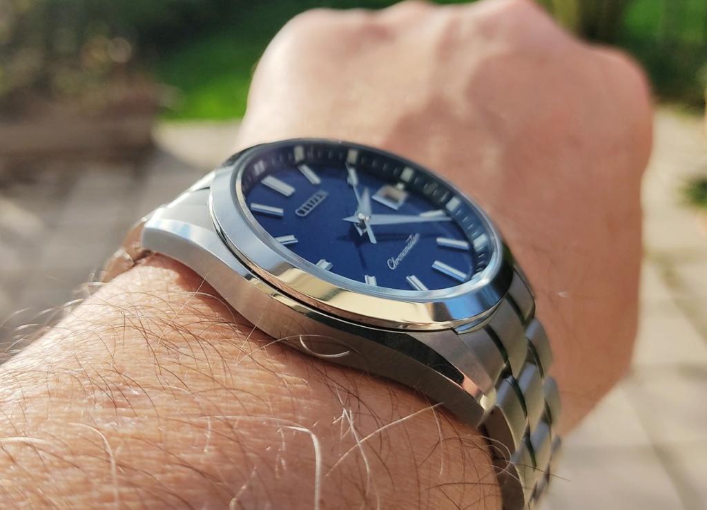 The Citizen blue washi dial: ma petite revue Citize15