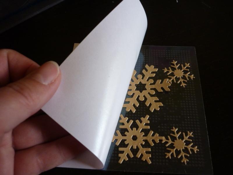 utilisation des glue dots -  par Charlotte P1110335