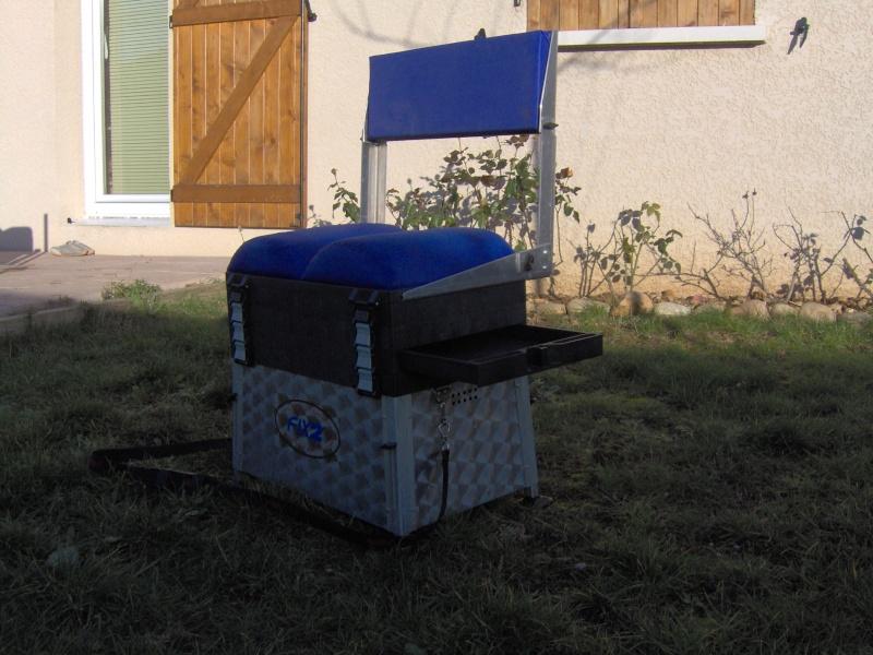 vend panier siège FIX2 avec dossier et pieds réglables Im000714
