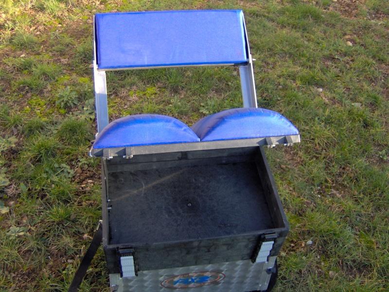 vend panier siège FIX2 avec dossier et pieds réglables Im000715