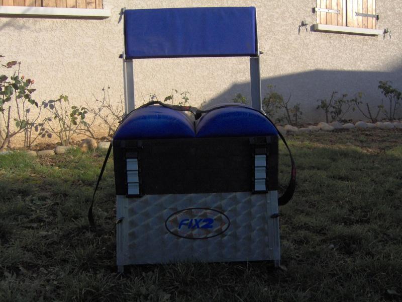 vend panier siège FIX2 avec dossier et pieds réglables Im000716