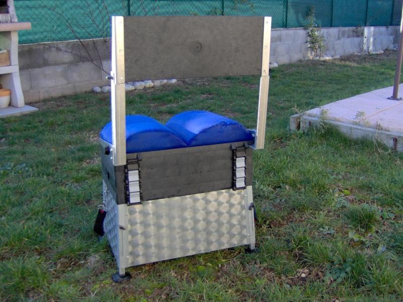 vend panier siège FIX2 avec dossier et pieds réglables Im007410