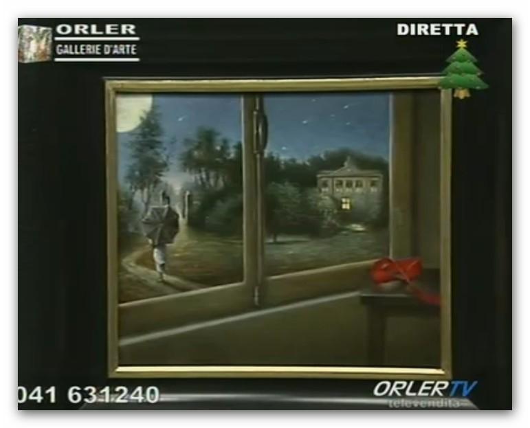 GALLERIA ORLER: OPERE PRESENTATE DURANTE LE DIRETTE 2013 Olio_311