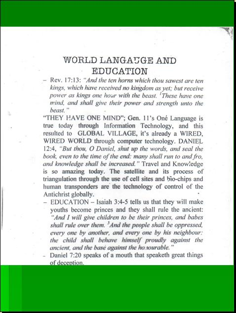 ONE WORLD MIND - ONE WORLD EDUCATION CONTROL OF CHILDREN IN NEW AGE CURRICULA, CONTROL OF YOUTH AND PEOPLES OF THE WORLD) Pnypd_31