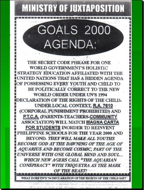 ONE WORLD MIND - ONE WORLD EDUCATION CONTROL OF CHILDREN IN NEW AGE CURRICULA, CONTROL OF YOUTH AND PEOPLES OF THE WORLD) Pnypd_32