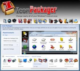 برنامج IconPackager v5.0 12a5_410
