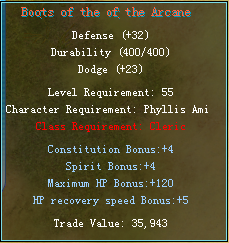 Equipment changes Cleric15