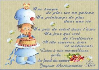 Bonne Anniversaire Agnes