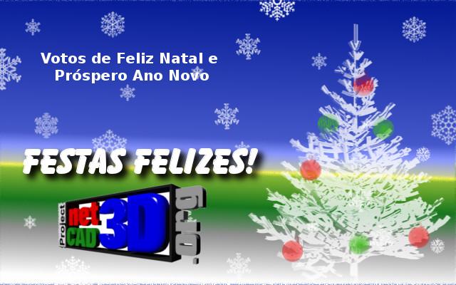 Boas festas e Próspero Ano 2013 Netcad10