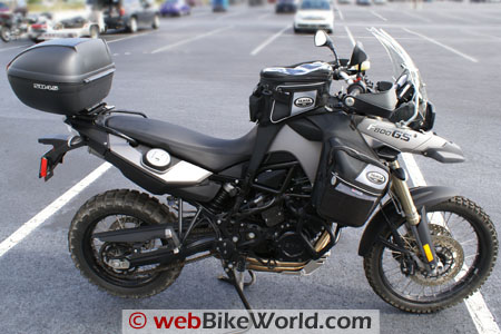 Pictures BMW F800GS / F650GS with SHAD Motorcases Bmw-f810
