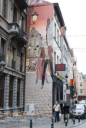 Les parcours BD de Bruxelles, Laeken et Anvers - Page 2 23587410