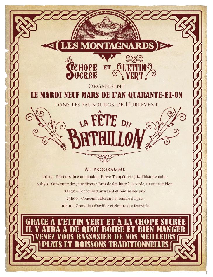 La Gazette de Hurlevent - Édition & Brève - Page 6 Affich14