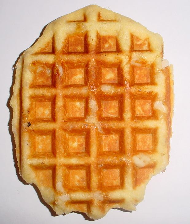 Belgian waffle Gaufre10