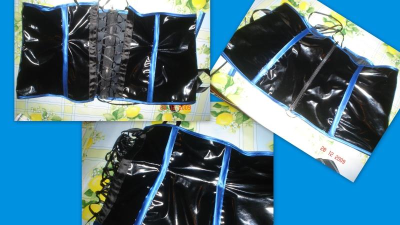 Tulipe-noire créa ... tenue alice aux pays des enfers revisité ,  cape polaire , tenu en vinyl pour sombre poupée , le tout porté sur mes clientes =) en ligne - Page 3 Nouvel11