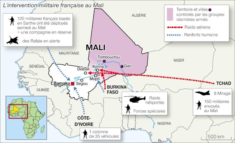 L'intervention militaire française au Mali vise-t-elle à assurer les intérêts d'Areva ? 111