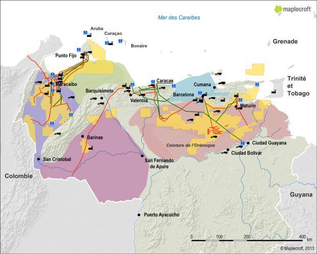 Les hydrocarbures au Venezuela 115