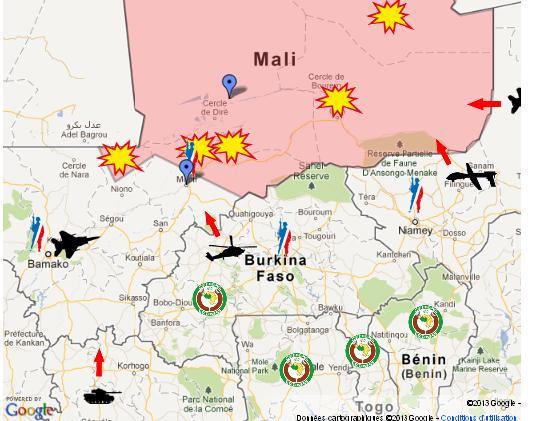 L'intervention militaire française au Mali vise-t-elle à assurer les intérêts d'Areva ? 118