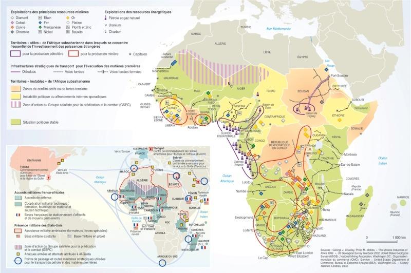 pour - Cartes et infographies de l'Afrique 129