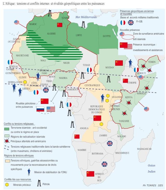 pour - Cartes et infographies de l'Afrique 130