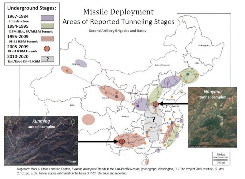 pour - Une grande muraille souterraine pour ranger des armes nucléaires en Chine ? 137