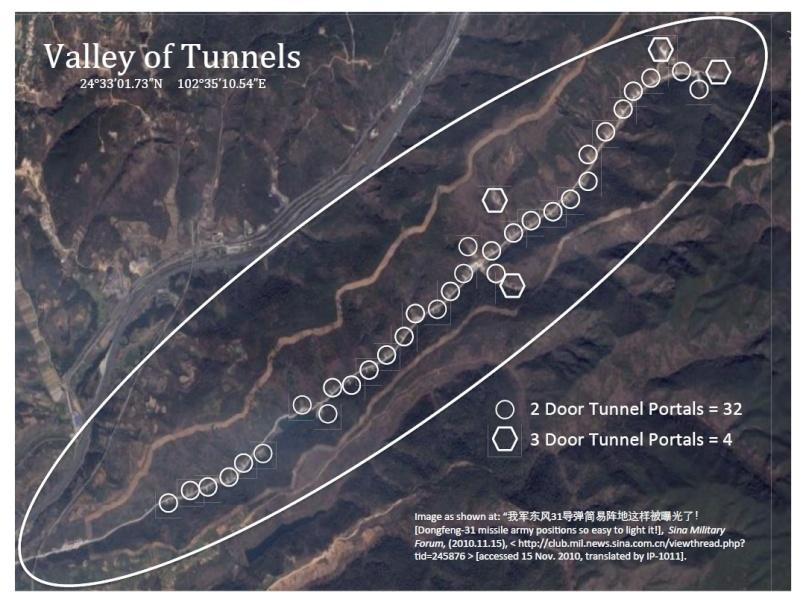 pour - Une grande muraille souterraine pour ranger des armes nucléaires en Chine ? 139