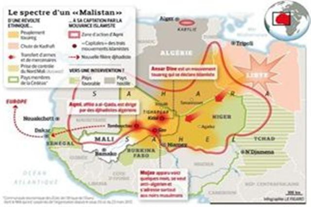 La France déclenche la guerre au Nord-Mali et collabore avec les États-Unis 1_smal10