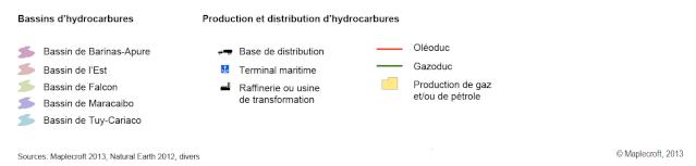 Les hydrocarbures au Venezuela 210