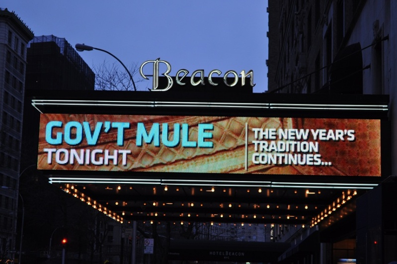 GOV'T MULE BEACON THEATRE NEW YEAR EVE 31/12/2012 NYC Mule_110