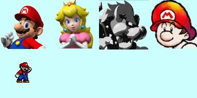 Faceset Mario & Cie Facese10