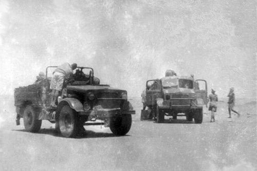 KOUFRA, début d'une épopée -26 janvier-1er mars 1941 Koufra12
