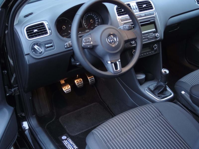 ZZ - VW Polo 1.2 70ch Confortline pack Style Noir Intense - 20/08/2010, achat 24/10/2014 - vente 30/05/2018 Dsc00112