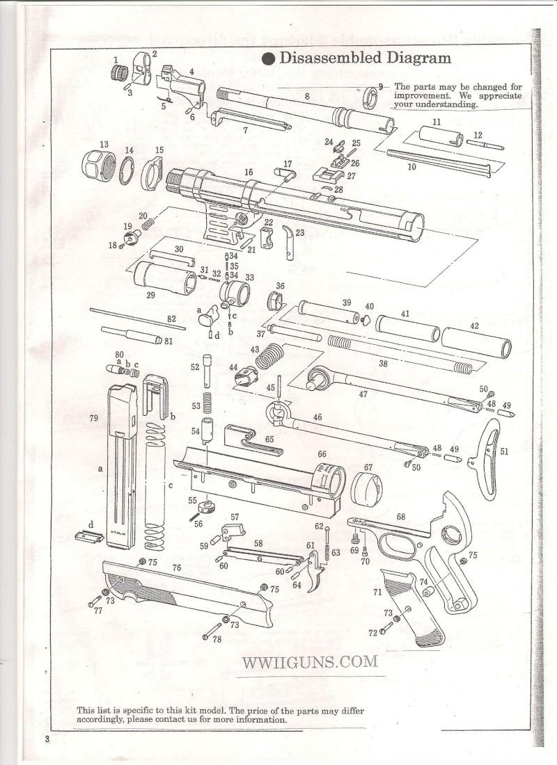 Marushin MP40 Instruction Manual ... in English Mp40210