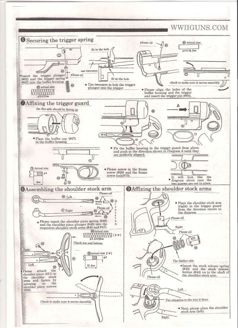 Marushin MP40 Instruction Manual ... in English Mp40410