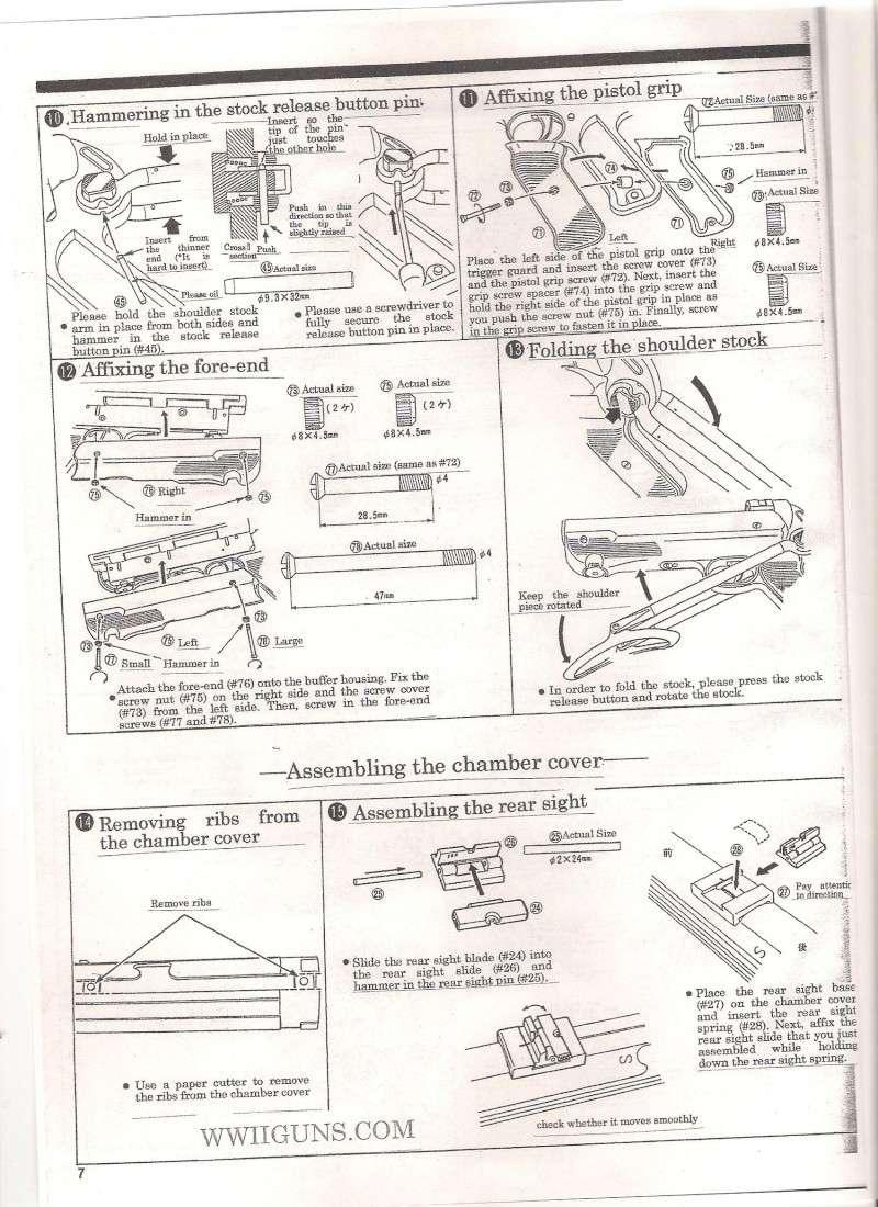 Marushin MP40 Instruction Manual ... in English Mp40510