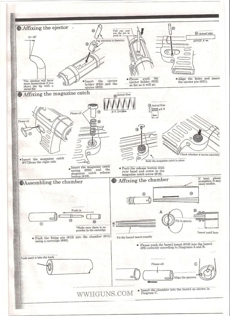 Marushin MP40 Instruction Manual ... in English Mp40610