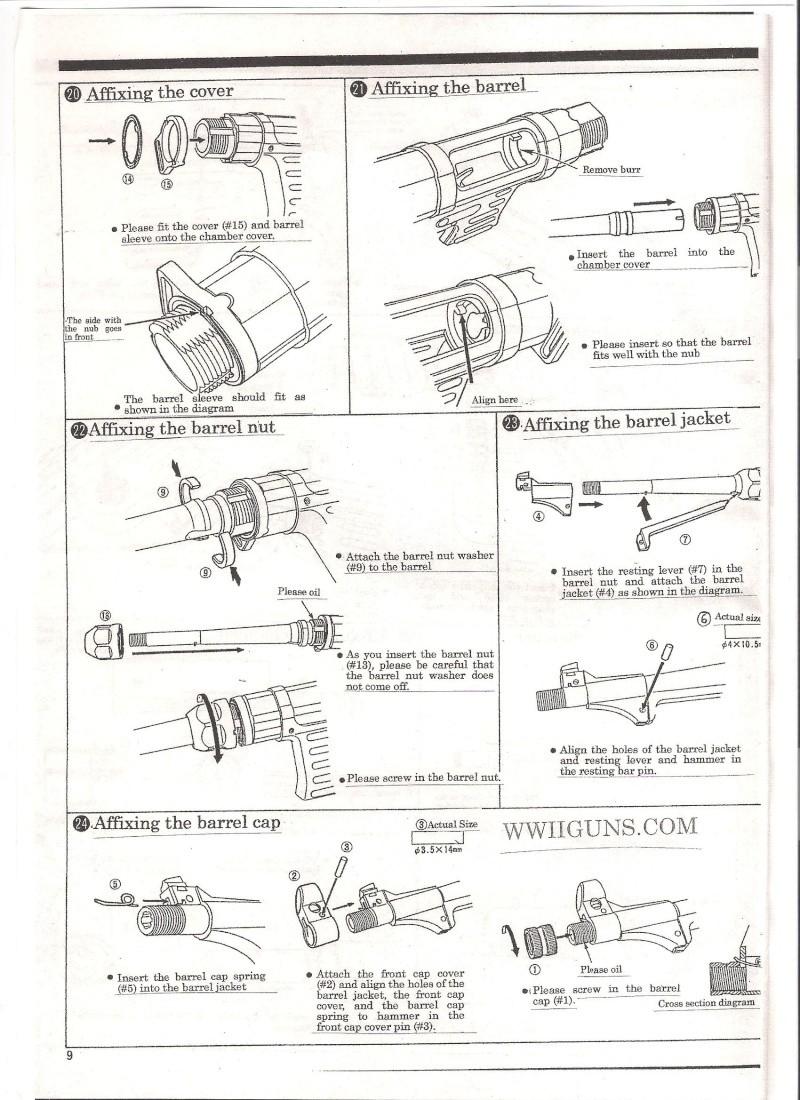 Marushin MP40 Instruction Manual ... in English Mp40711