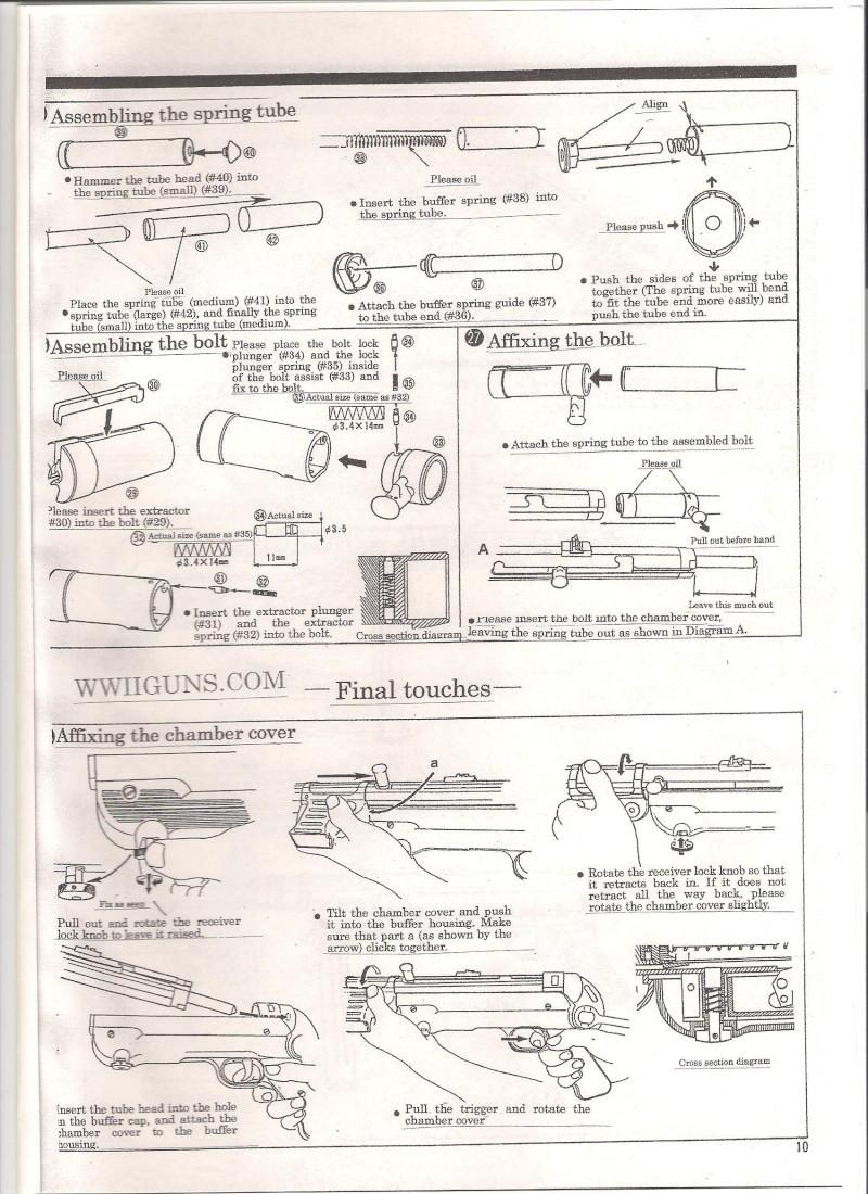 Marushin MP40 Instruction Manual ... in English Mp40810
