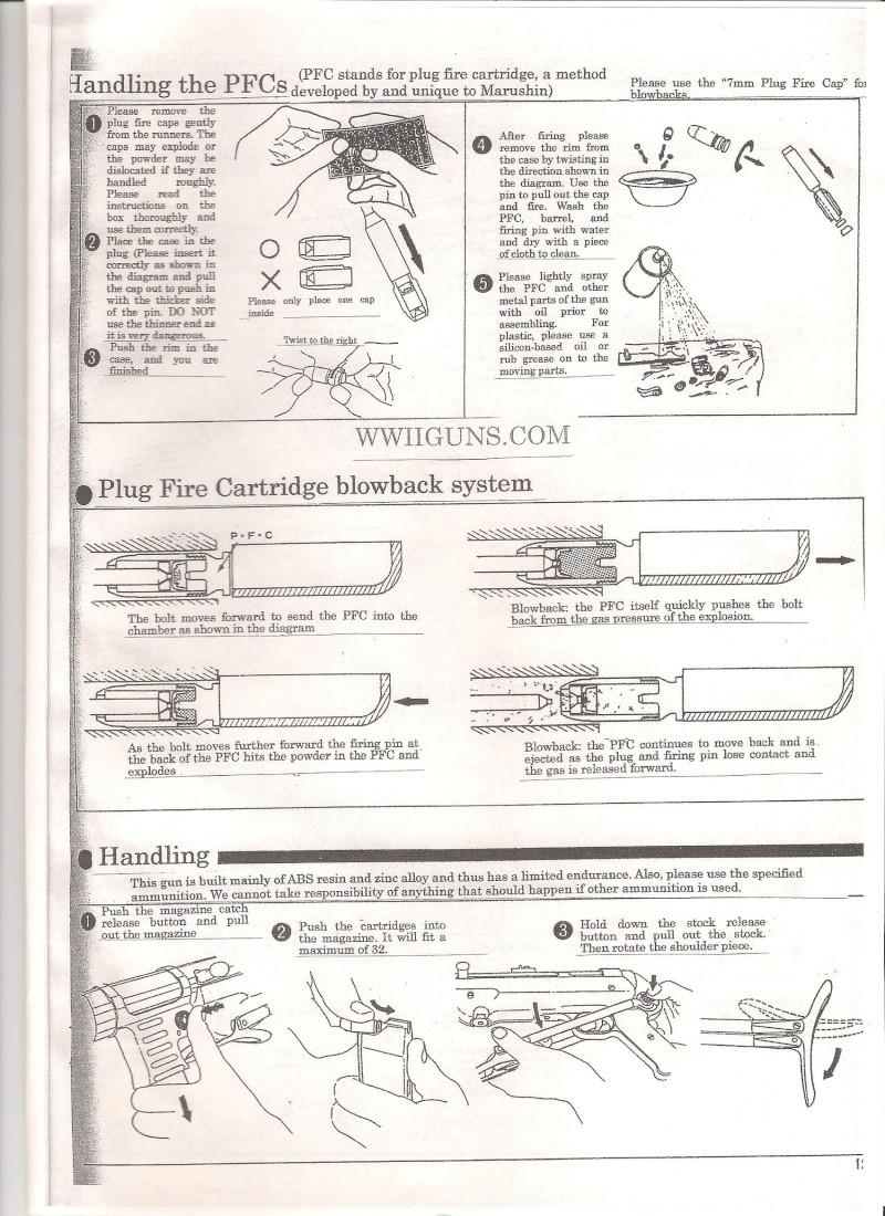 Marushin MP40 Instruction Manual ... in English Mp40910