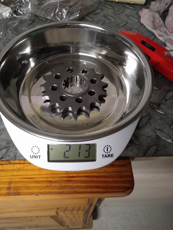 Gain de poids kit chaine/ disques Img_2052
