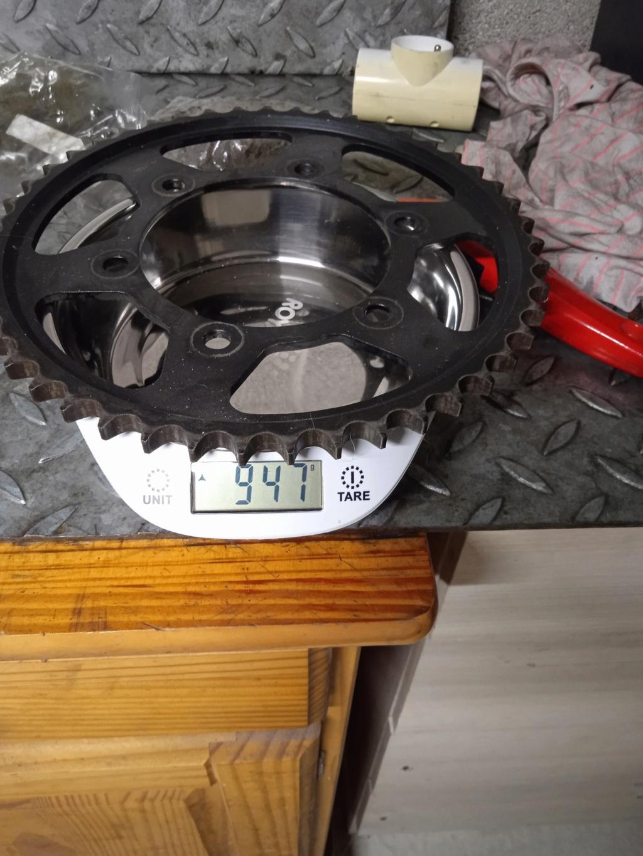 Gain de poids kit chaine/ disques Img_2053
