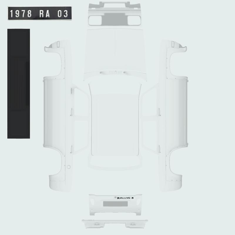 Personnalisation de votre voiture perso ! c'est ICI Simca310