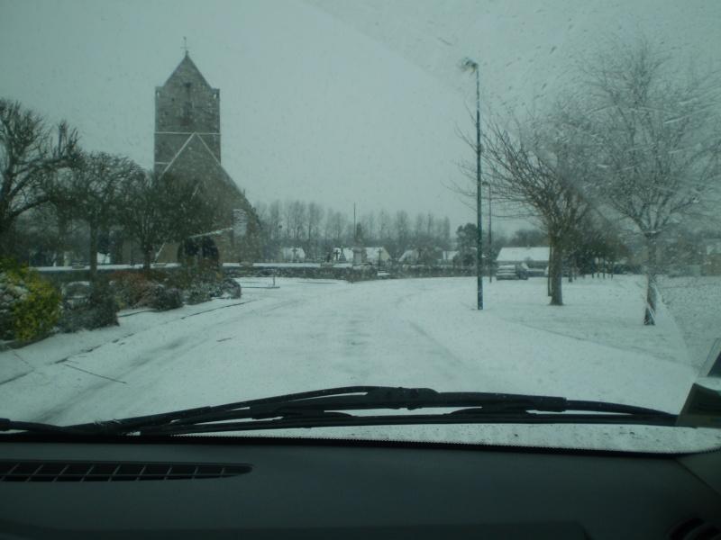 Neige sur le val st père et Avranches Neige_16