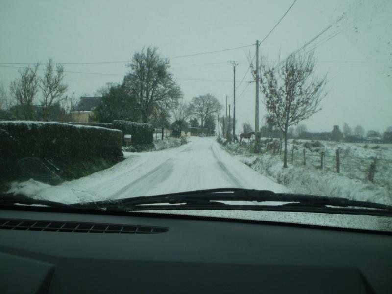 Neige sur le val st père et Avranches Neige_19