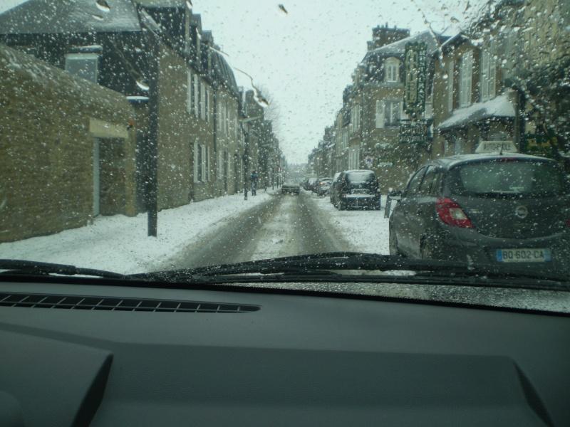 Neige sur le val st père et Avranches Neige_28