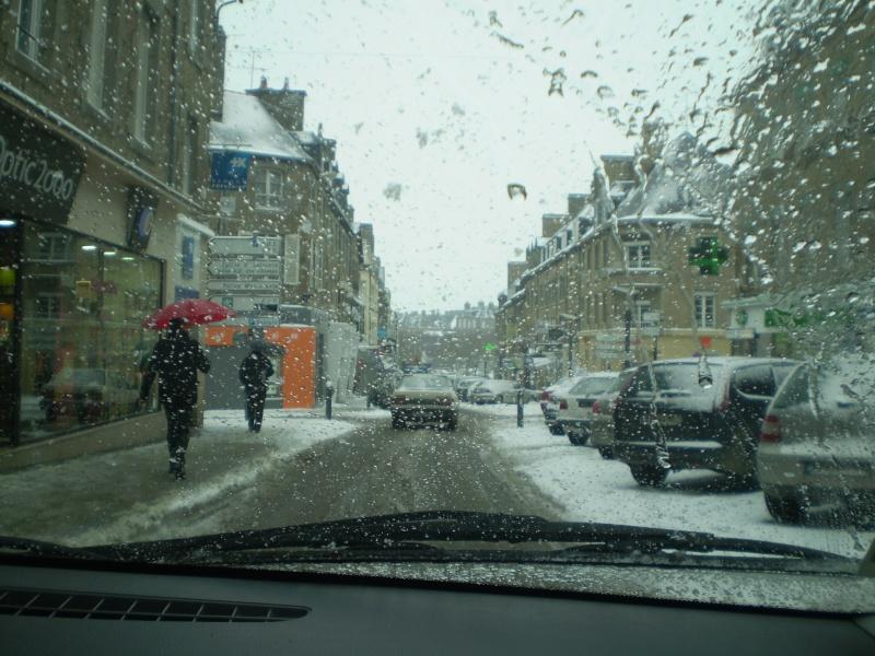 Neige sur le val st père et Avranches Neige_30