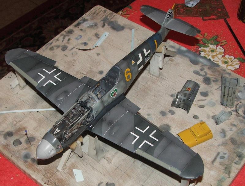 Me 109 G6 Progress Dscf0212