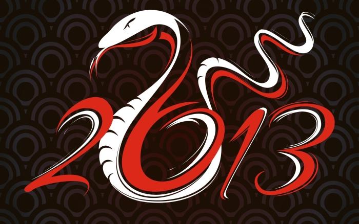 Año nuevo chino, 10 de febrero de 2013 (el año 4711) Snake_10
