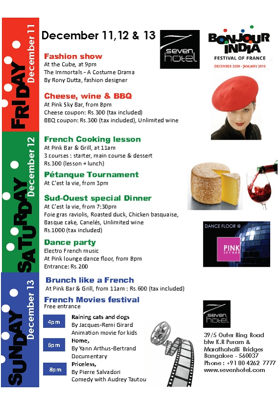 French food festival at Seven Hotel this weekend Seven_10