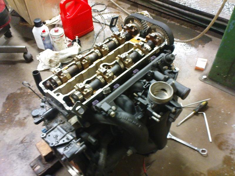 Motorumbau hat begonnen... Dsc00812